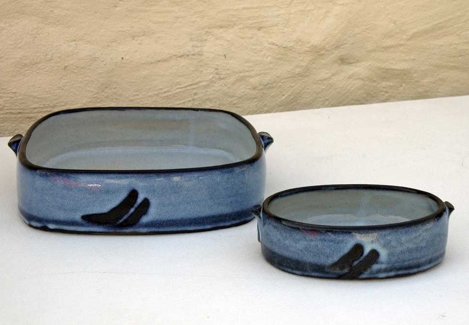 Large Oval Dish: £120 Small Oval Dish: £35