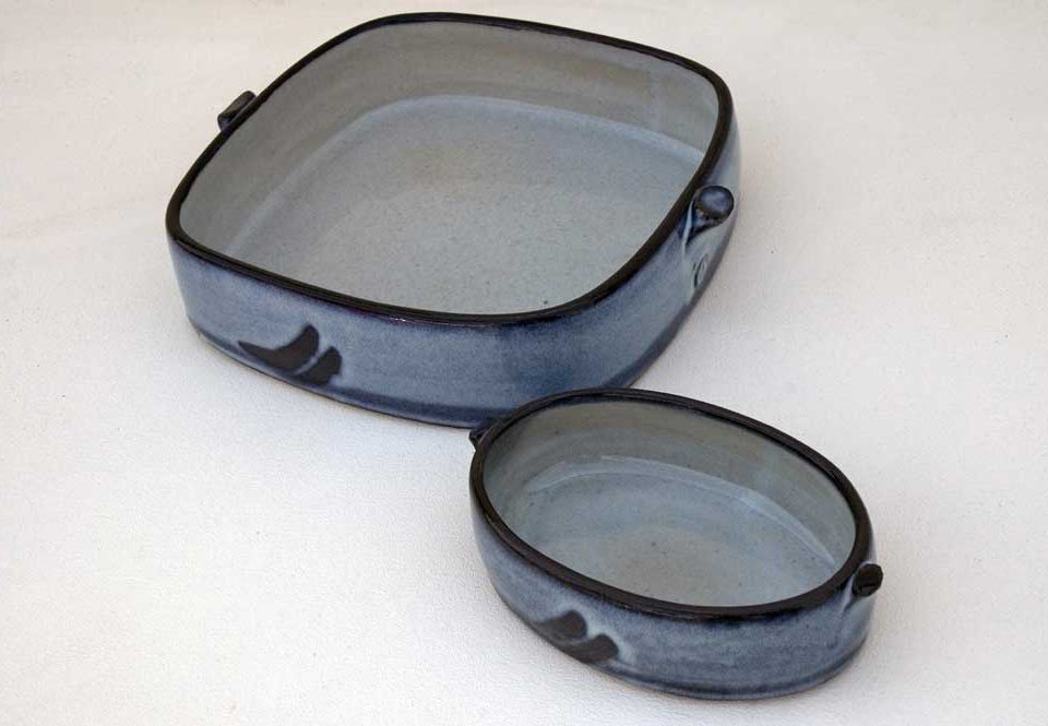 Large Oval Dish: £120Small Oval Dish: £35